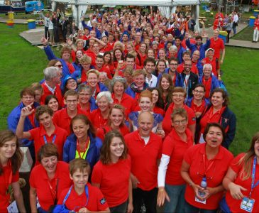 Vrijwilligers WK 2014